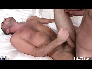 Cute brunette gay girth brooks getting anally slammed and cock jizzed