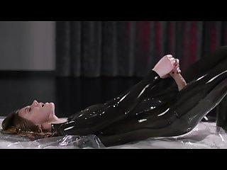Maria pie in latex strapon cums full video