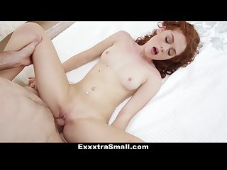 Exxxtrasmall petite redhead alice green s pussy pounding