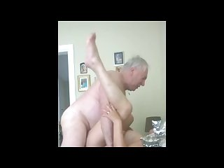 Mature couple private scene