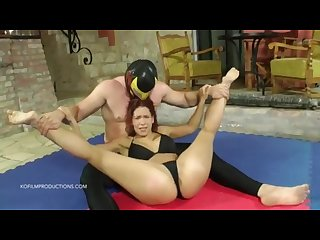 Humiliating maledom the Mexican Vs Katie fuckdoll