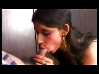 Milk shower lactating indian Bhabhi blowjob