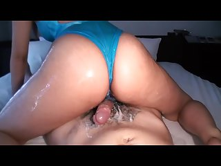 Petite Jap Is All Oiled Up And Sticky Fucked