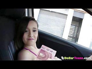 Beautiful spanish teen nikki litte fucks for cash