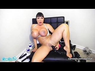 Camsoda Ava devine huge tits anal play masturbation