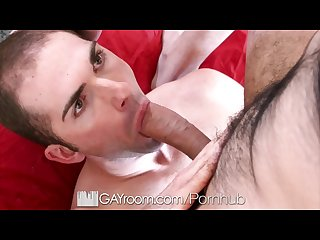 GayRoom Spontaneous fuck with Blayne Wilson and Hugo Diaz