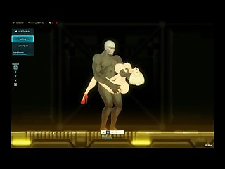 Alien quest Eve v0 12b gameplay Anime and game over gallery
