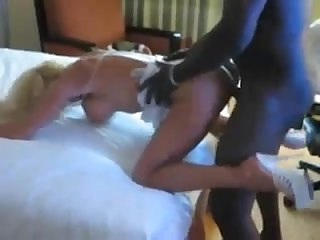 Blonde hotwife gets smashed by the black bull while her hubby films