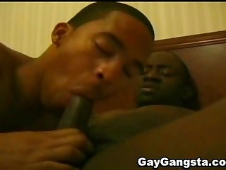 Horny black gay ultimate anal sex