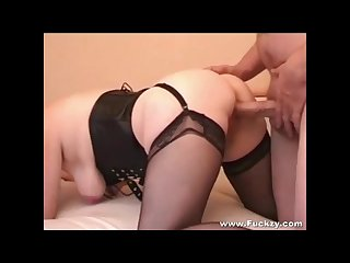 Amazing ass fuck and cumshot closeup