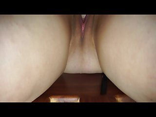 Amateur milf horny house wife gets a pussy full of cum by husband