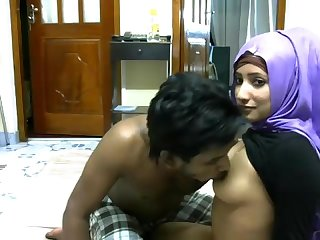 Newly married south indian couple with ultra hot babe webcam show 4