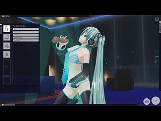 cm3d2 vocaloid Hentai hatsune miku fucks Anal