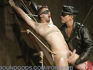 Slave boy S cock domination
