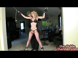 Theticklechannel sidnay tickle torture