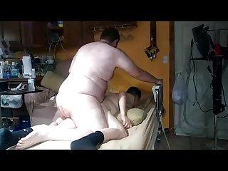 Big bear fucks my hole