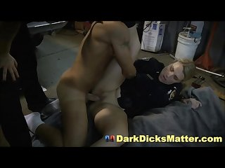 Big Cock Chop Shop Owner Made To Fuck Bisexual Milf Cops