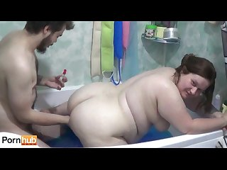 Jelly bath sex with Tanya mellow