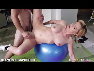 Brazzers hot milf needs some yoga help