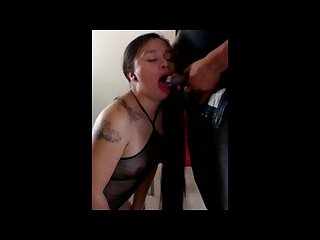 Cock biting and gagging
