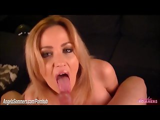 Hot blonde breaks up with boyfriend by sucking another cock