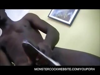 Monster 11 inch black cock
