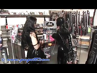 Shopping in bondage