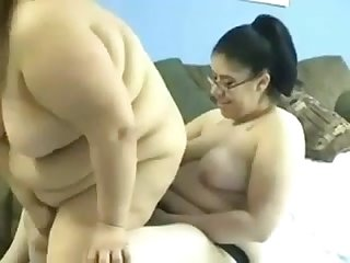 Bbw lesbians using strapon horny fat girls