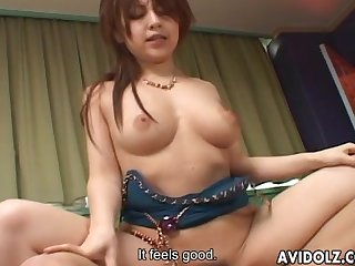 Playful girl nanami takase enjoys two dicks uncensored