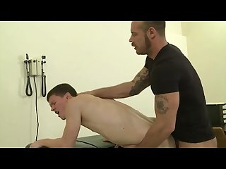 Dilf doctor fucks twink patient