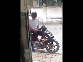 Bike wank