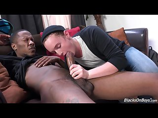 Thug fucks a twink