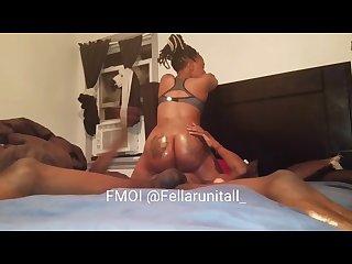 Foot fuck and ass worship