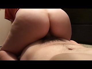 Slow motion dick riding