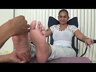 Sexy indian foot massage