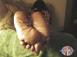 Big thick size 12w mature ebony soles