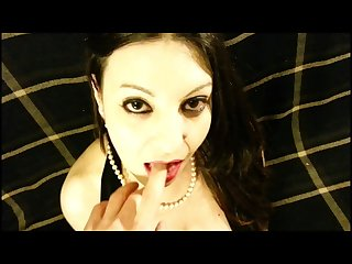 Dead girl hot blowjob fuck mouth lick cum off cock video bonus