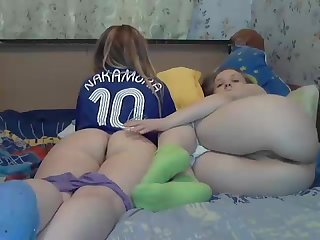 Two girls on webcam 2