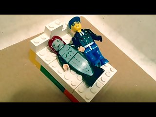 The lego Affair studly cop detains mermaid daughter