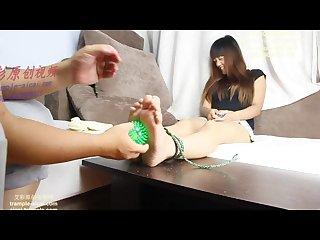 Sock removal Tickling 1