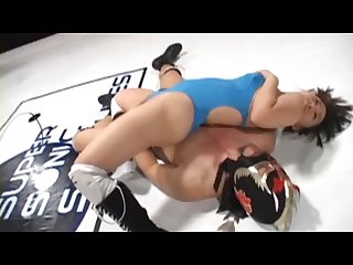 Mixed sex Wrestling japanese