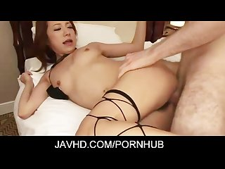 Charming japanese milf kanako tsuchiyo fucked from behind