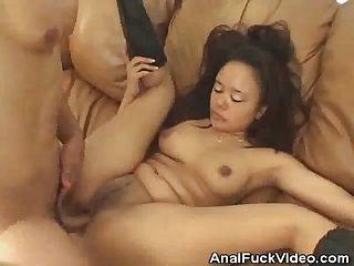 Annie Cruz Gets Anal And A Mouthful Of Cum