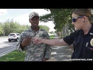 Fake Soldier Gets Used as a Fuck Toy by Female Cops (xb15756)