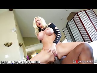 Lexingtonsteele drills huge tits blonde milf