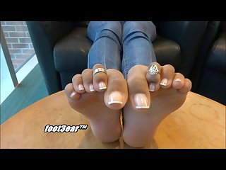 Flawless indian trini feet