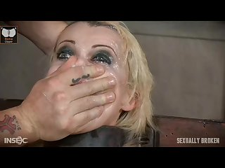 Nadia white super extreme rough facefuck part 2