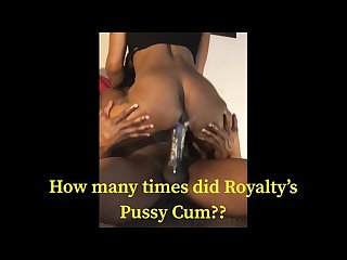 Oooo shit blac creamy pussy royalty part 2
