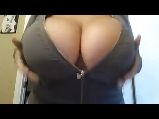 Pull them huge tits out