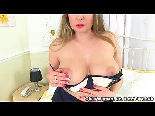 English milf sophia delane shares her heavenly body